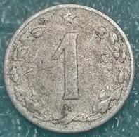 Czechoslovakia 1 Heller, 1956 -4458 - Czechoslovakia