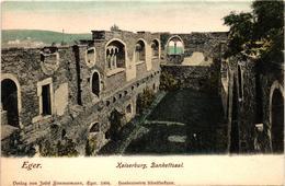 Czech Republic, Cheb, Eger, Kaiserburg, Bankettsaal,Old Postcard Pre. 1905 - Czech Republic