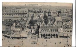CPA  De   SAINT-QUENTIN  (02)   -   Vue  Panoramique  Derrière  L' Hôtel  De  Ville   //  TBE - Saint Quentin