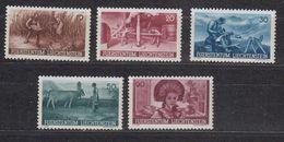 Liechtenstein 1941 Anbauwerk 5v ** Mnh  (42728E) - Liechtenstein