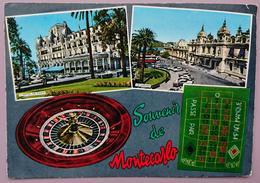 MONTE-CARLO - Le Casino - Roulette - Souvenir De Montecarlo - PRINCIPAUTE DE MONACO - Vg - Casinò