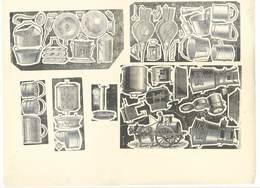 Feuille D'imprimeur ( A. Waton, Saint Etienne ) Illustrée De Dessins (modèles En-tête De Factures ), Matériel, Objets - Sin Clasificación