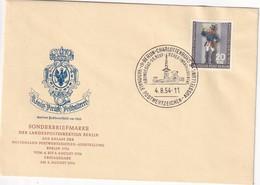 ALLEMAGNE  1954 LETTRE DE BERLIN-CHARLOTTENBURG - [7] République Fédérale
