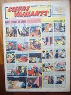 """Coeurs Vaillants N°29 Du 18 Juillet 1943 Avec Planche De Tintin """"L'Etoile Mystérieuse"""" - Magazines"""