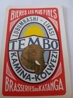 Lubumbashi, République Démocratique Du Congo Brasserie Du Katanga Simba Brasserie Du Katanga Une Carte à Jouer - Autres