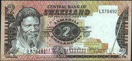 SWAZILAND - 2 Emalangeni Nd.(1983 & 1984) {sign. Dlamini & Oliver} UNC P.8 B - Swaziland