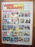 """Coeurs Vaillants N°30 Du 25 Juillet 1943 Avec Planche De Tintin """"L'Etoile Mystérieuse"""" - Magazines"""