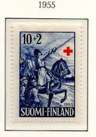 PIA - FINLANDIA - 1955 : Pro Croce Rossa - Opere Del Pittore Albert Edelfelt -  (YV  430-32) - Primo Soccorso
