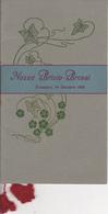 Fossano 1916 - Libretto Cartoncino Nozze - Poesia Edoardo Bertoli - Tipografia F.Viassone - Wedding