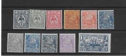 Nouvelle-Calédonie N° 114 à 125** Sans Le 118 - Nouvelle-Calédonie