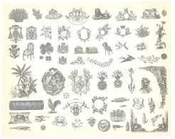 Feuille D'imprimeur ( A. Waton, Saint Etienne ) Illustrée De Dessins (modèles En-tête De Factures ) - Invoices & Commercial Documents