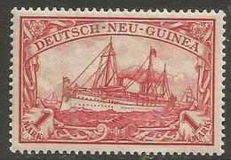 German New Guinea - 1901 Kaiser's Yacht 1m Mint Hinged    Sc 16 - Colony: German New Guinea