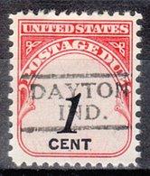 Locals USA Precancel Vorausentwertung Preo, Locals Indiana, Dayton 728 - Vorausentwertungen