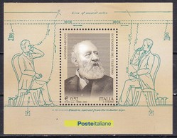 Repubblica Italiana, 2003 - Antonio Meucci, Foglietto - Nr.BF34 MNH** - Blocks & Sheetlets