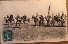 Cpa, Algérie, Cavaliers Indigènes,editions Geiser,écrite D'Oran En 1909 - Other
