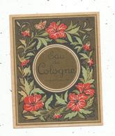 étiquette De Parfum , EAU DE COLOGNE SUPERIEURE - Etiquettes