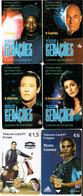 PHONECARDS- PORTUGAL - 6- CHIP CARDS ( STAR TREK+FOOTBALL ) - Portugal