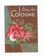 étiquette De Parfum , EAU DE COLOGNE - Etiquetas
