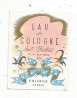 étiquette De Parfum , EAU DE COLOGNE Des Bébés , R. Meunier - Etiquetas