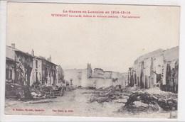 54 VITRIMONT  Bombardé Vue Intérieure Guerre Lorraine 1914 1915 16 - Francia