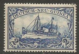 German New Guinea - 1901 Kaiser's Yacht 2m Mint Hinged    Sc 17 - Colony: German New Guinea