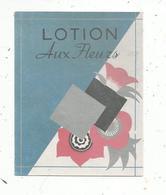 étiquette De Parfum , LOTION AUX FLEURS - Labels