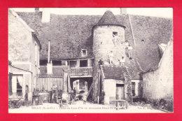 F-91-Milly-02Ph  Hôtel Du Lion D'Or, Où Descendait Henri IV, Animation, Cpa BE - Milly La Foret