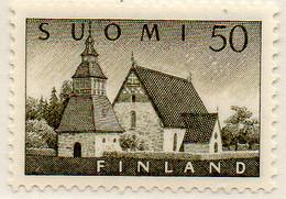 PIA - FINLANDIA - 1957  : Chiesa Di Lammi -   (Yv  454) - Chiese E Cattedrali