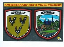 Woudenberg Met 2 Vinyl Stickers Ecusson ( S ) Autocollant - Netherlands