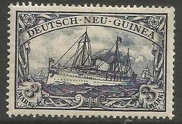 German New Guinea - 1901 Kaiser's Yacht 3m Mint Hinged    Sc 18 - Colony: German New Guinea