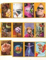 Lot 1 - Vignettes Autocollantes - Cuisine Comme Un Petit Chef - Personnages De Walt Disney - Magasins Netto - Année 2019 - Adesivi