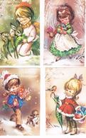 4 Cartes Enfant -children  -kinder - Kindjes - Zonder Classificatie