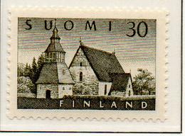 PIA - FINLANDIA - 1956  : Chiesa Di Lammi -   (Yv  437) - Chiese E Cattedrali