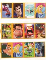 Lot 3 - Vignettes Autocollantes - Cuisine Comme Un Petit Chef - Personnages De Walt Disney - Magasins Netto - Année 2019 - Adesivi