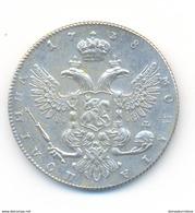 Russia 50 Kopeks 1738 COPY - Rusland