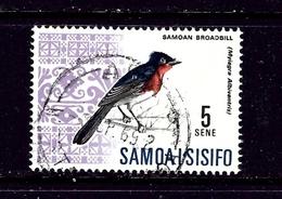 Samoa 268 Used 1967 Bird    #2 - Samoa
