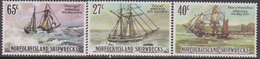 Norfolk - 1982 - No 291/293 - Navigation Ship Navi - Isola Norfolk