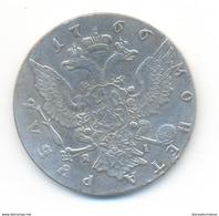 Russia 1 Ruble 1766 COPY - Rusland