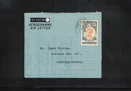 Nigeria 1961 Interesting Aerogramme - Nigeria (1961-...)