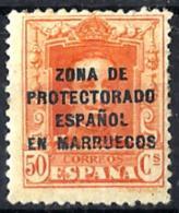 Marruecos Español Nº 88 Con Charnela - Marruecos Español