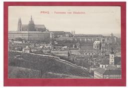 REPUBLIQUE TCHEQUE -- PRAGUE -- PANORAMA VON HRADSCHIN -- CP NC-- - Czech Republic
