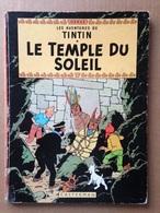 BD Tintin - Le Temple Du Soleil - Hergé (1964) - Tintin