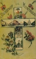 CPA - Belgique - Scherpenheuvel-Zichem - Montaigu - Souvenir De Montaigu - Scherpenheuvel-Zichem