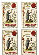 LOT ETIQUETTES GENIEVRE HERSTAL - Labels