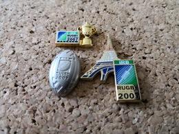 3 Pins Coupe Du Monde 2007 Tour Eiffel Ballon Coupe Arthus Bertrand * - Rugby