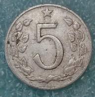 Czechoslovakia 5 Hellers, 1962 -1921 - Czechoslovakia