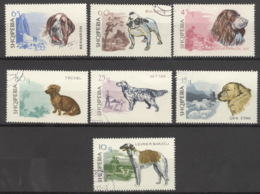 Albanien 1104/10 O Hunde - Albanie