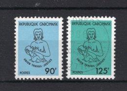 GABON Yt. 539/540° Gestempeld 1983 - Gabon (1960-...)