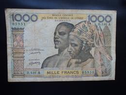 CÔTE D'IVOIRE : 1000 FRANCS   ND   Signature 11   P 103Al.    Presque TTB * - Côte D'Ivoire