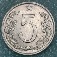 Czechoslovakia 5 Hellers, 1976 -4328 - Czechoslovakia